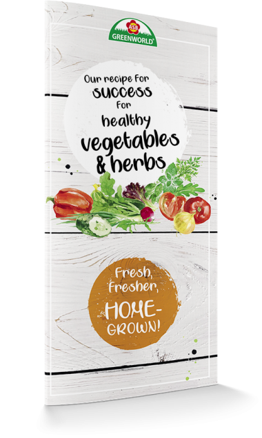 Our recipe for success for healthy vegetables & herbs