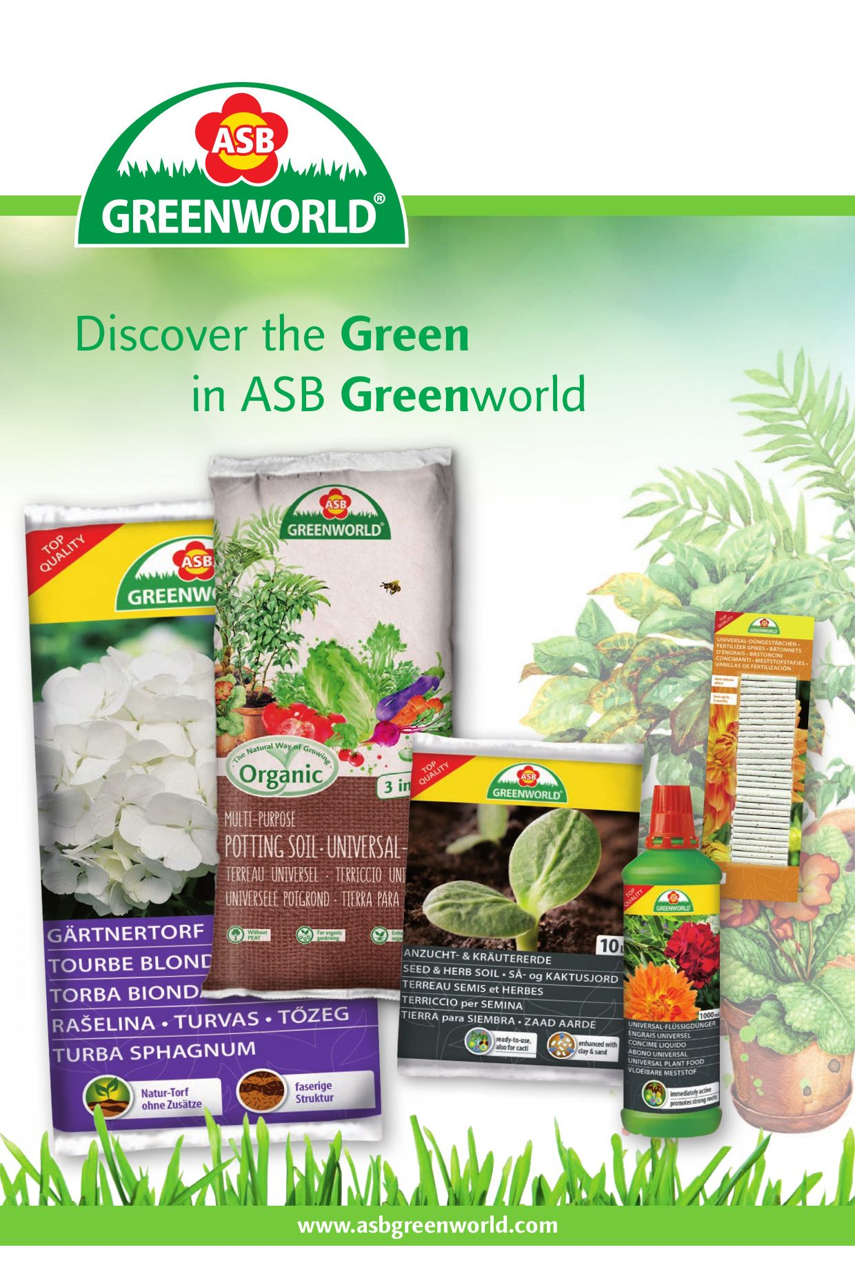 Discover the Green in ASB Greenworld (Export Germany)