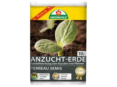 ASB Greenworld Premium Seed & Cutting Soil, 10 L
