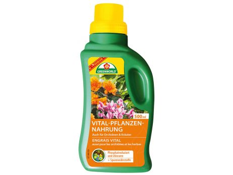 ASB Greenworld Premium Vitalizing Plant Food, 500 ml