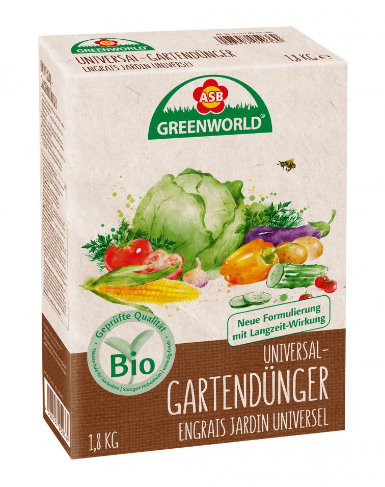 Product: BIO Universal Garden Fertilizer, 1,8 kg - ASB