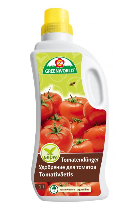 ASB Greenworld BetterGrow Tomato & Vegetable Fertilizer, 1 L
