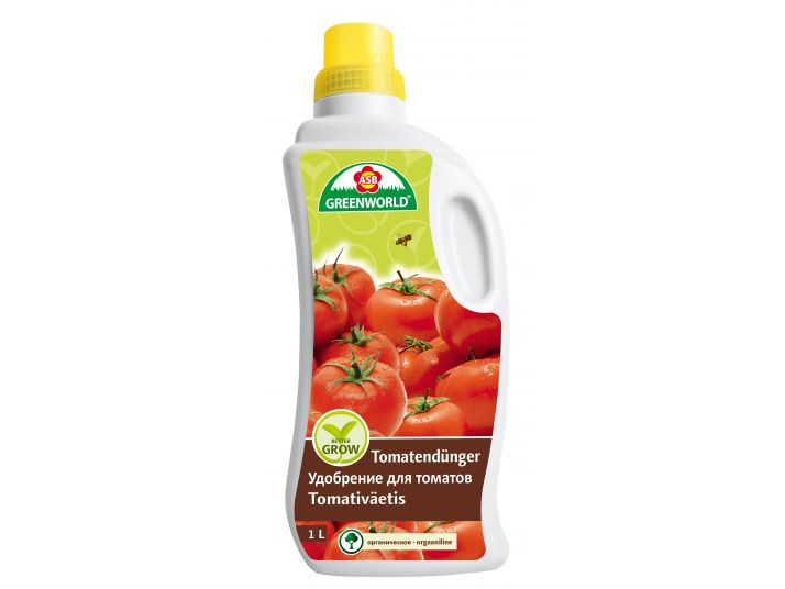 ASB Greenworld BetterGrow Tomaten- & Gemüsedünger, 1 L