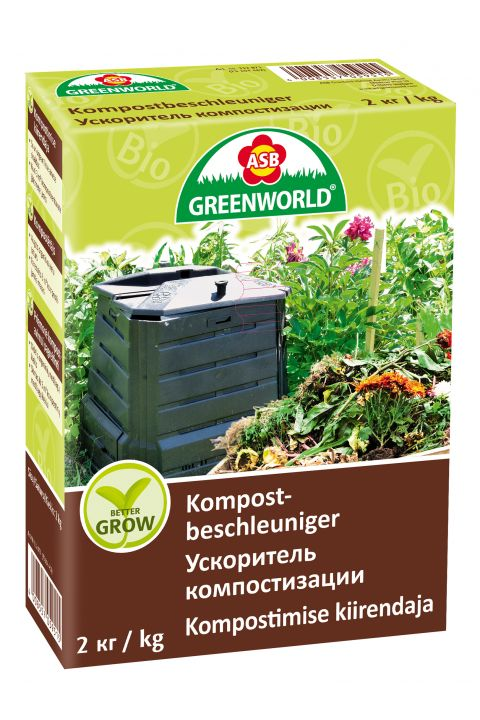 ASB Greenworld BetterGrow Compost Activator, 2 kg