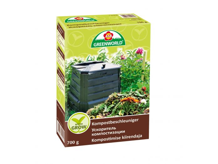 ASB Greenworld BetterGrow Compost Activator, 700 g
