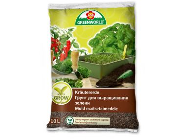 ASB Greenworld BetterGrow Kräutererde, 10 L