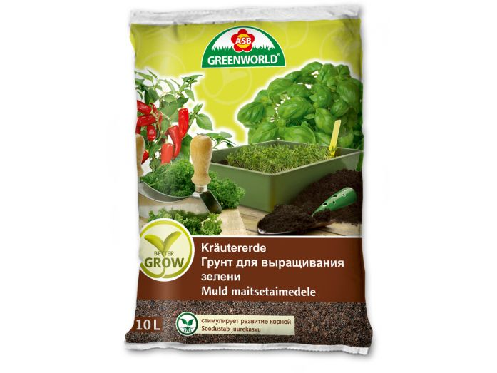 ASB Greenworld BetterGrow Herb Soil, 10 L