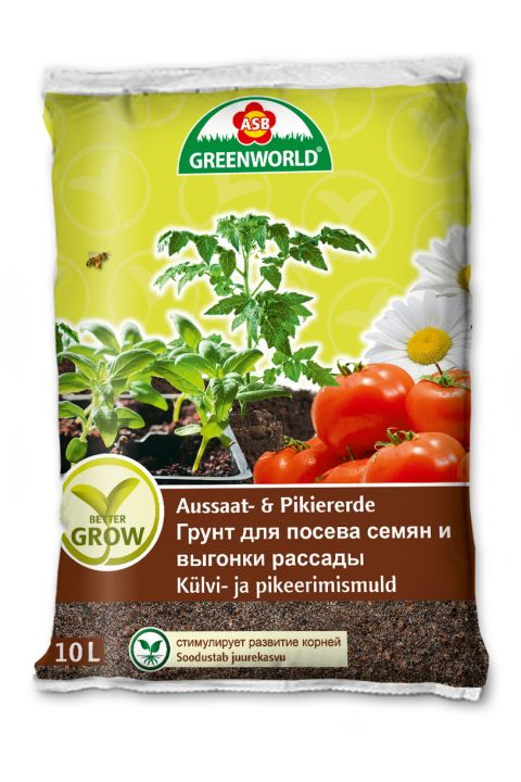 ASB Greenworld BetterGrow Seed & Cutting Soil, 10 L