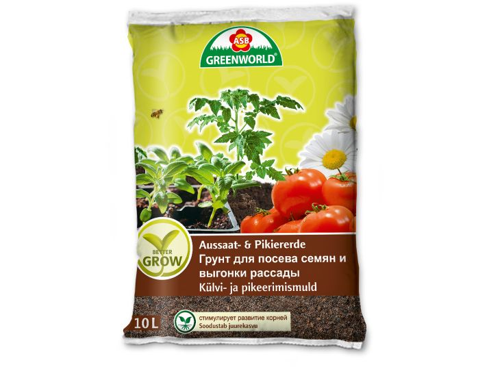 ASB Greenworld BetterGrow Aussaat- & Pikiererde, 10 L