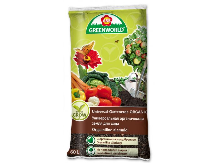 ASB Greenworld Bettergrow Universal Garden Soil, 60 L