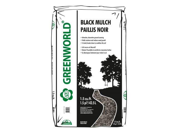 ASB Greenworld Black Mulch, 42.5 L/1.5 cu.ft.