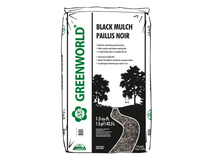 ASB Greenworld Black Mulch 42.5 L/1.5 cu.ft.